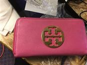 TORY BURCH Wallet PINK ZIPPER WALLET